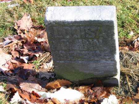 QUINN, LOUISA - Preble County, Ohio   LOUISA QUINN - Ohio Gravestone Photos