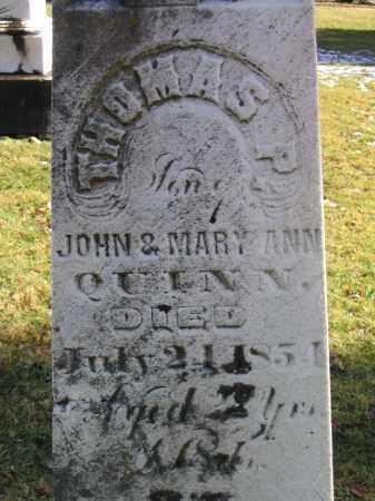 QUINN, THOMAS P - Preble County, Ohio | THOMAS P QUINN - Ohio Gravestone Photos