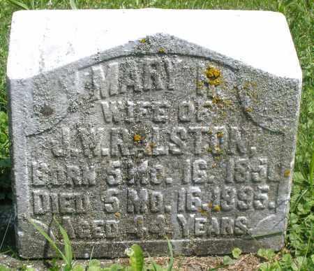RALSTON, MARY - Preble County, Ohio | MARY RALSTON - Ohio Gravestone Photos