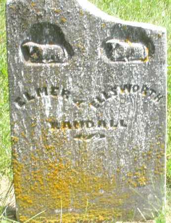 RANDALL, ELLSWORTH - Preble County, Ohio | ELLSWORTH RANDALL - Ohio Gravestone Photos