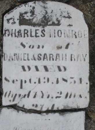 RAY, CHARLES MONROE - Preble County, Ohio | CHARLES MONROE RAY - Ohio Gravestone Photos