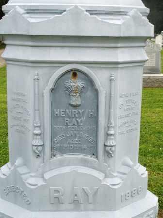 RAY, HENRY H. - Preble County, Ohio | HENRY H. RAY - Ohio Gravestone Photos