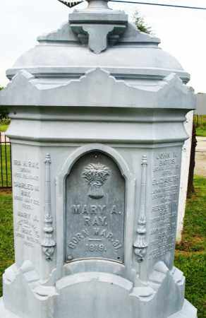 RAY, MARY A. - Preble County, Ohio | MARY A. RAY - Ohio Gravestone Photos