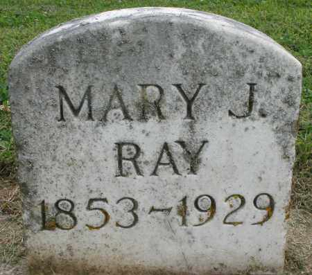 RAY, MARY J. - Preble County, Ohio | MARY J. RAY - Ohio Gravestone Photos