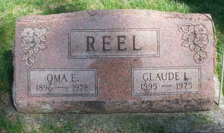 REEL, OMA E. - Preble County, Ohio | OMA E. REEL - Ohio Gravestone Photos