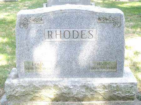 RHOADES, LOLA - Preble County, Ohio | LOLA RHOADES - Ohio Gravestone Photos