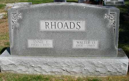 RHOADS, ANNIE - Preble County, Ohio | ANNIE RHOADS - Ohio Gravestone Photos