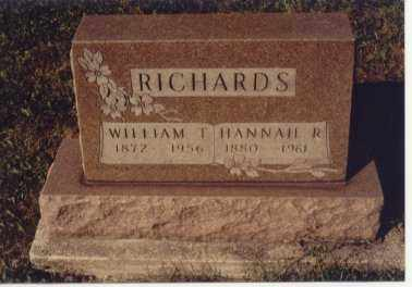 RICHARDS, WILLIAM T. - Preble County, Ohio | WILLIAM T. RICHARDS - Ohio Gravestone Photos