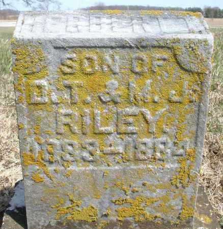RILEY, HERBERT - Preble County, Ohio   HERBERT RILEY - Ohio Gravestone Photos