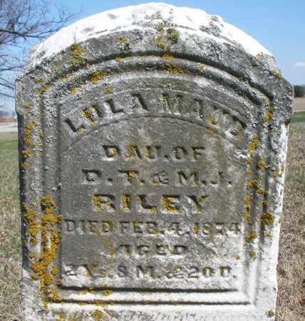 RILEY, LULU MAUD - Preble County, Ohio | LULU MAUD RILEY - Ohio Gravestone Photos