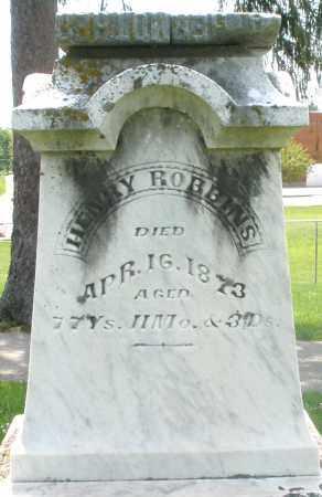 ROBBINS, HENRY - Preble County, Ohio | HENRY ROBBINS - Ohio Gravestone Photos