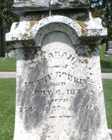 ROBBINS, SARAH - Preble County, Ohio   SARAH ROBBINS - Ohio Gravestone Photos