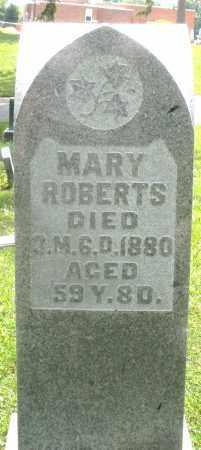 ROBERTS, MARY - Preble County, Ohio   MARY ROBERTS - Ohio Gravestone Photos