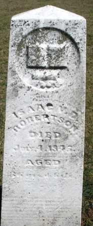 ROBERTSON, ISAAC M.D. - Preble County, Ohio | ISAAC M.D. ROBERTSON - Ohio Gravestone Photos