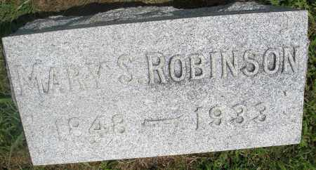 ROBINSON, MARY S. - Preble County, Ohio | MARY S. ROBINSON - Ohio Gravestone Photos