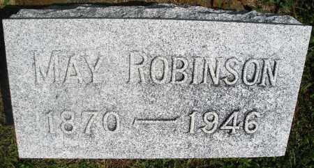ROBINSON, MAY - Preble County, Ohio | MAY ROBINSON - Ohio Gravestone Photos