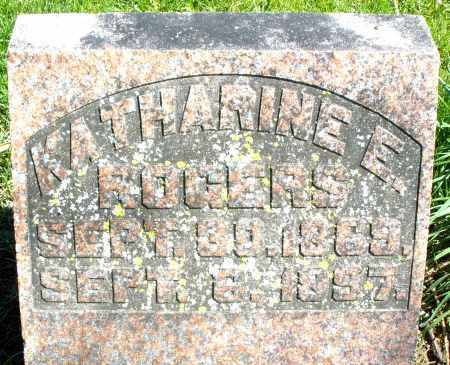 ROGERS, KATHARINE E. - Preble County, Ohio | KATHARINE E. ROGERS - Ohio Gravestone Photos