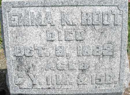 ROOT, EMMA K. - Preble County, Ohio | EMMA K. ROOT - Ohio Gravestone Photos