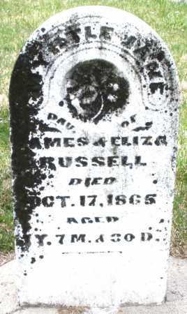 RUSSELL, MYRTLE JANE - Preble County, Ohio   MYRTLE JANE RUSSELL - Ohio Gravestone Photos
