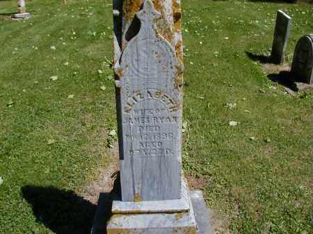 RYAN, ELIZABETH - Preble County, Ohio | ELIZABETH RYAN - Ohio Gravestone Photos