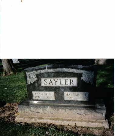 SAYLOR, GEORGE H. - Preble County, Ohio | GEORGE H. SAYLOR - Ohio Gravestone Photos