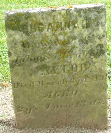 SAYLOR, SUSANNAH - Preble County, Ohio   SUSANNAH SAYLOR - Ohio Gravestone Photos