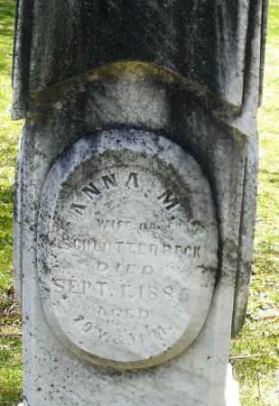 SCHLOTTERBECK, ANNA M. - Preble County, Ohio | ANNA M. SCHLOTTERBECK - Ohio Gravestone Photos
