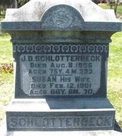 SCHLOTTERBECK, SUSAN - Preble County, Ohio | SUSAN SCHLOTTERBECK - Ohio Gravestone Photos