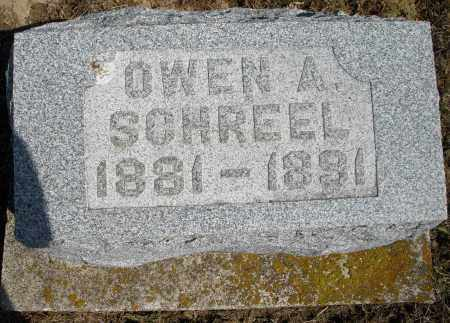 SCHREEL, OWEN A. - Preble County, Ohio | OWEN A. SCHREEL - Ohio Gravestone Photos