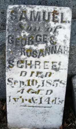 SCHREEL, SAMUEL - Preble County, Ohio | SAMUEL SCHREEL - Ohio Gravestone Photos
