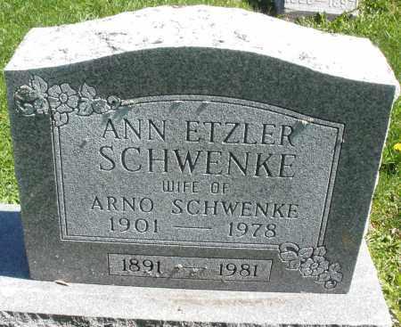 SCHWENKE, ARNO - Preble County, Ohio | ARNO SCHWENKE - Ohio Gravestone Photos