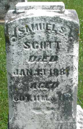 SCOTT, SAMUEL S. - Preble County, Ohio | SAMUEL S. SCOTT - Ohio Gravestone Photos