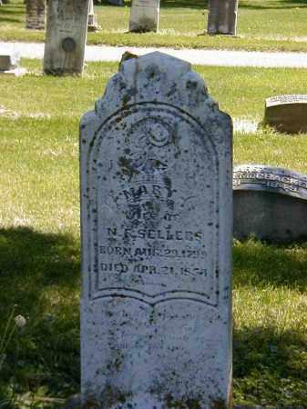 SELLERS, MARY - Preble County, Ohio | MARY SELLERS - Ohio Gravestone Photos