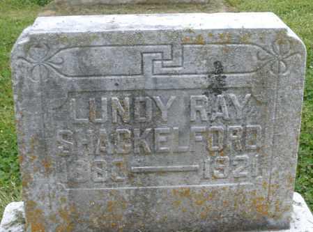 SHACKELFORD, LUNDY RAY - Preble County, Ohio | LUNDY RAY SHACKELFORD - Ohio Gravestone Photos