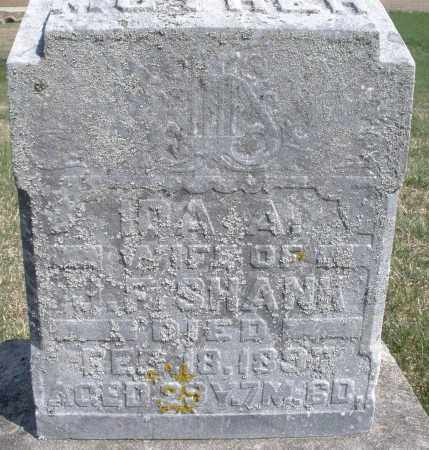 SHANK, IDA A. - Preble County, Ohio | IDA A. SHANK - Ohio Gravestone Photos