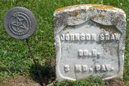 SHAW, JOHNSON - Preble County, Ohio   JOHNSON SHAW - Ohio Gravestone Photos