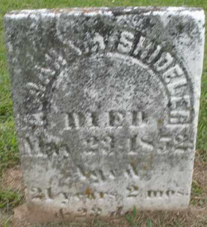 SHIDELER, ABRAHAM - Preble County, Ohio | ABRAHAM SHIDELER - Ohio Gravestone Photos