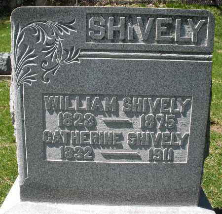 SHIVELY, CATHERINE - Preble County, Ohio | CATHERINE SHIVELY - Ohio Gravestone Photos