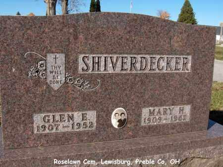 MTCASTLE SHIVERDECKER, MARY - Preble County, Ohio | MARY MTCASTLE SHIVERDECKER - Ohio Gravestone Photos