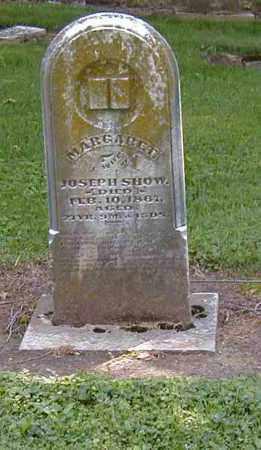 SHOW, MARGARET - Preble County, Ohio | MARGARET SHOW - Ohio Gravestone Photos