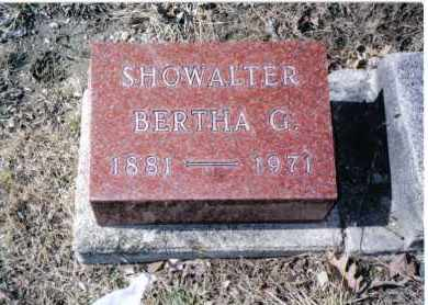 SHOWALTER, BERTHA G. - Preble County, Ohio   BERTHA G. SHOWALTER - Ohio Gravestone Photos