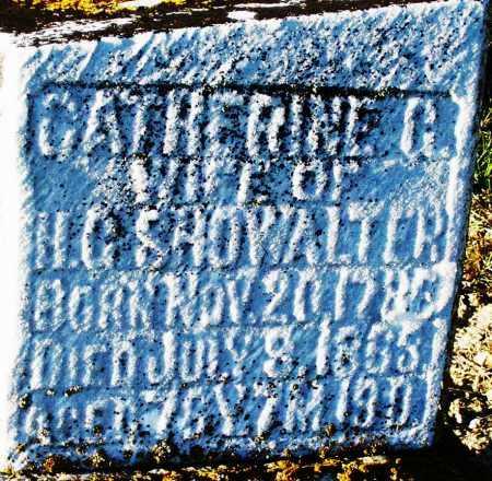 SHOWALTER, CATHERINE - Preble County, Ohio | CATHERINE SHOWALTER - Ohio Gravestone Photos