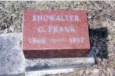 SHOWALTER, G. FRANK - Preble County, Ohio | G. FRANK SHOWALTER - Ohio Gravestone Photos