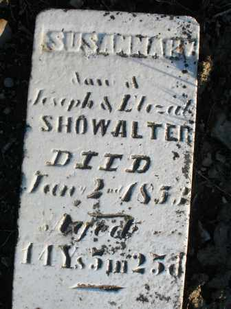SHOWALTER, SUSANNAH - Preble County, Ohio | SUSANNAH SHOWALTER - Ohio Gravestone Photos