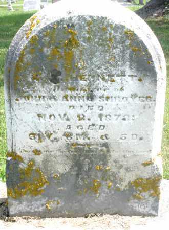 SHROYER, DAUGHTER - Preble County, Ohio | DAUGHTER SHROYER - Ohio Gravestone Photos