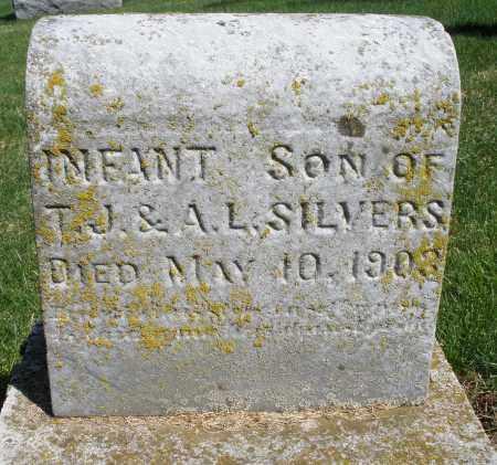 SILVERS, INFANT SON - Preble County, Ohio | INFANT SON SILVERS - Ohio Gravestone Photos