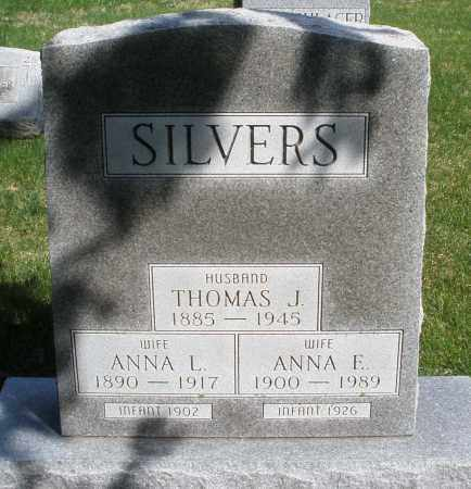 SILVERS, INFANT - Preble County, Ohio | INFANT SILVERS - Ohio Gravestone Photos