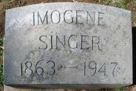 SINGER, IMOGENE - Preble County, Ohio | IMOGENE SINGER - Ohio Gravestone Photos