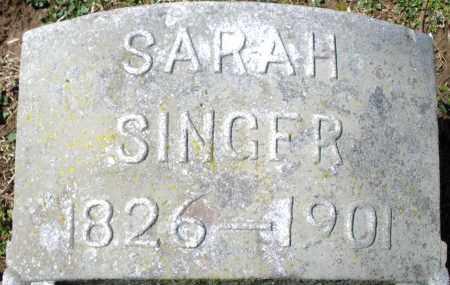 SINGER, SARAH - Preble County, Ohio | SARAH SINGER - Ohio Gravestone Photos