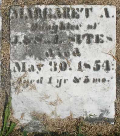 SITES, MARGARET A. - Preble County, Ohio   MARGARET A. SITES - Ohio Gravestone Photos